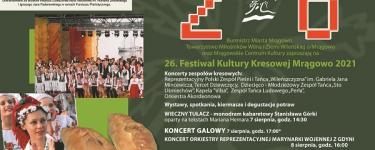 Festiwal Kultury Kresowej Mrągowo 2021